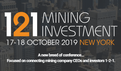 121 Mining Conference - October