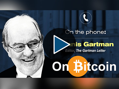 "Dennis Gartman: ""I Had Been Manifestly Bearish On Bitcoin, Now I'm Neutral"""