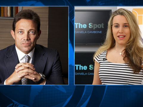 "Real ""Wolf of Wall Street"" Jordan Belfort on Scorsese Film, Gold & Market P"