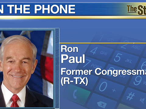 Market Acting 'Strange'; Manipulation At Play - Former Congressman Ron Paul