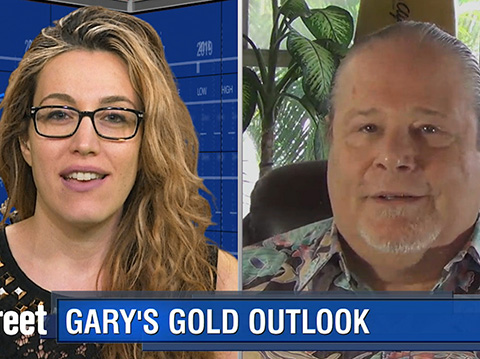 Gold Sees Knee-jerk Move; What Next? - Gary Wagner