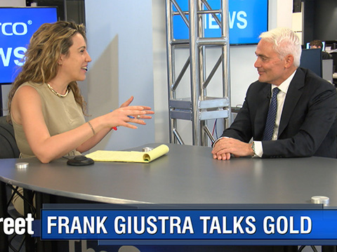 Gold Is 'Managed' by Wall Street and The Fed - Frank Giustra - PART 1/4