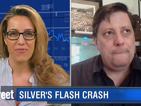 Why Silver's Mysterious Flash Crash Enraged This Trader