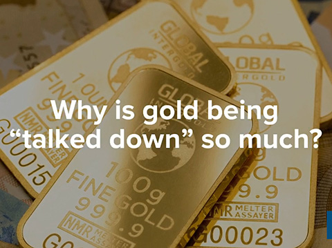 Why is Gold Being 'Talked Down' So Much? - Marc Faber