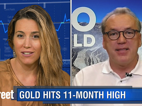 Will Gold's Safe-haven Rally Stick As Gold Blows Through $1,300?