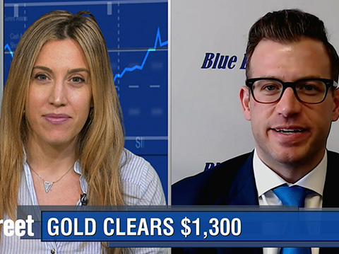 Gold Heads Back To $1,300 as It Marks First Weekly Gain in Five Weeks