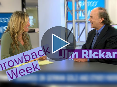 Jim Rickards: $10,000 Gold Is Coming (RERUN)