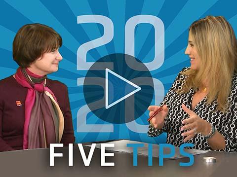 Five key tips for your 2020 portfolio
