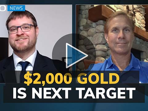 Gold price should be a healthy $2,000 by year end higher in 2021