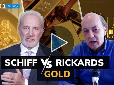 Schiff and Rickards: industry giants forecast gold price (Part 1/3)