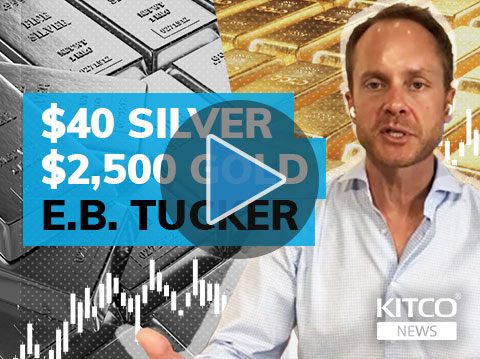 E.B. Tucker forecasts $40 silver price, $2,500 gold by year-end