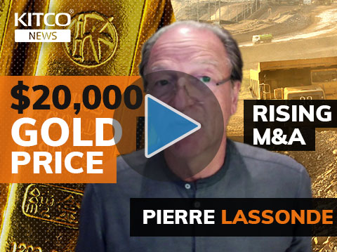 Can gold hit $20,000? Pierre Lassonde talks industry's future, his legacy