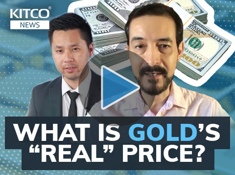 Reality matters; why all-time high gold price was not 'real'