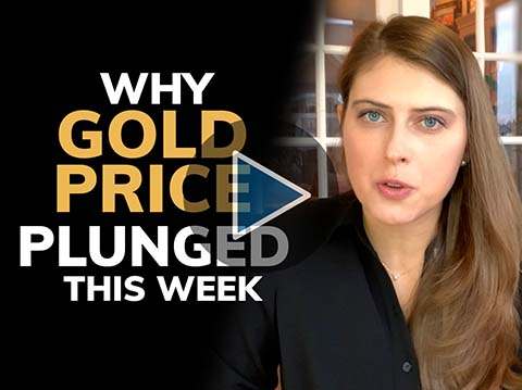 The real reason why gold price plunged this week