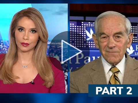 """Ron Paul: """"The Dollar will self-destruct""""; impact of new China-Iran deal"""