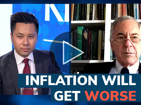 Inflation is now highest since 2008 and is only going to get higher - Hanke