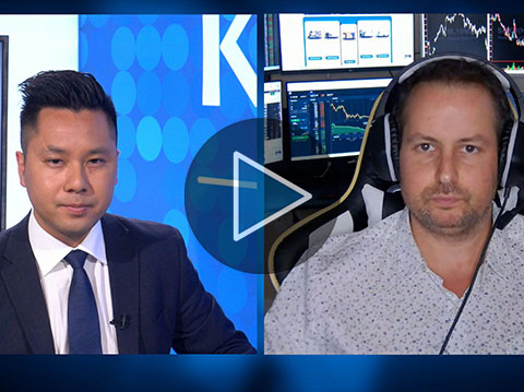 Cryptos and stocks are both headed lower from here - Gareth Soloway