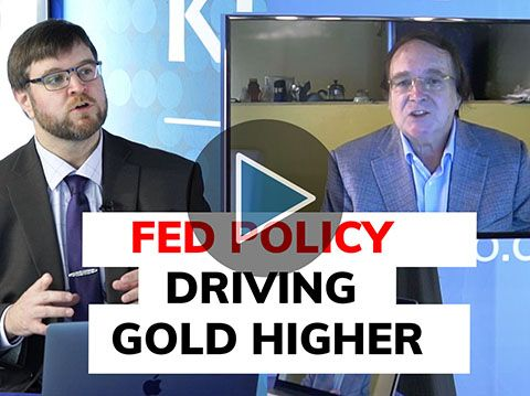 There are no limits to monetary policy; gold ending the year above $2,000